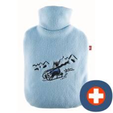 Emosan ökowärmflasche boy on sled