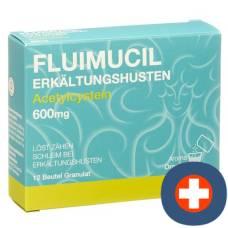 Fluimucil erkältungshusten gran 600 mg btl 12 pcs