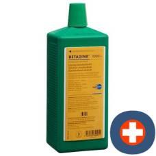 Betadine solution standardized lös fl 1000 ml