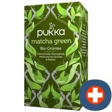 Pukka matcha green tea organic btl 20 pcs