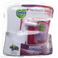 Dettol no-touch starter set white garde berries 250 ml