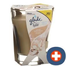 Glade by brise premium scented candle delicate vanilla dream 224 g