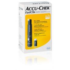 Accu-chek fastclix kit + 6 lancets