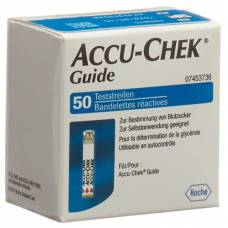 Accu-chek test strips 50 pcs guide