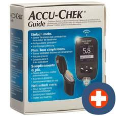 Accu-chek guide set mmol / l incl. 1x 10 tests