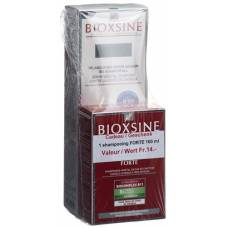 Bioxsine serum foam 150 ml with 100 ml of shampoo forte free
