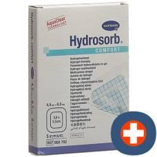 HYDROSORB COMFORT hydrogel 4.5x6.5cm sterile 5 pcs