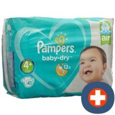 Pampers baby dry 10-15kg gr4 + maxi plus savings pack 41 pcs