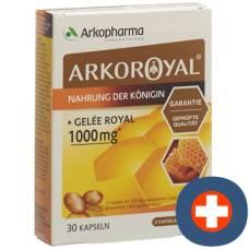 Arkoroyal kaps 1000 mg 30 pcs