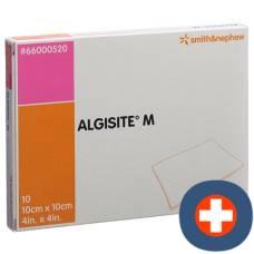 Algisite m alginate compresses 10x10cm 10 pcs