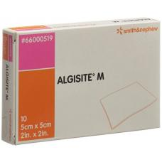 Algisite m alginate compresses 5x5cm 10 pcs