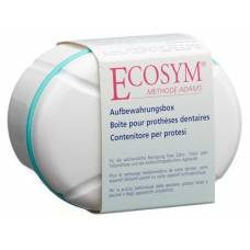 Ecosym storage box for denture