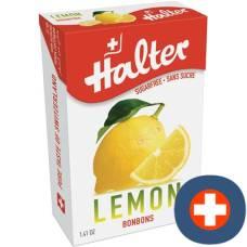 Halter bonbons classics lemon sugar box 40 g