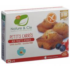 Nature & cie cake with red fruit 160 g