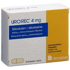 Urorec kaps 4 mg 30 pcs