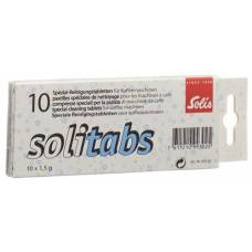 Solitabs cleaning tablets 10 pcs