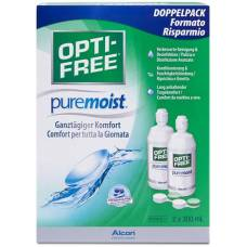 Optifree puremoist multifunction disinfectant solution lös 2 bottles 300 ml