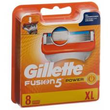 Gillette fusion5 power blades 8 pieces