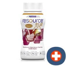 Resource fruit pear cherry 4 fl 200 ml