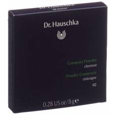 Dr hauschka compact powder 02 8 g chestnut