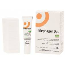 Blephagel duo gel 30g + 100 compresses