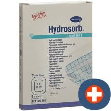 HYDROSORB COMFORT hydrogel 7.5x10cm sterile 5 pcs