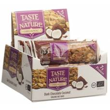 Taste of nature bars protein coconut 16 x 40 g