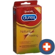 Durex natural feeling condoms big pack 16 pcs