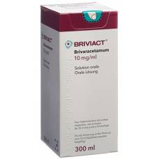 Briviact 10 mg / ml oral solution fl 300 ml