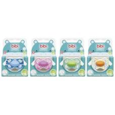 Bibi nuggi happiness natural silicon 6-16 ring wild baby assorted sv-6 unit a