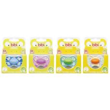 Bibi nuggi happiness natural silicone 16+ ring wild baby assorted sv-6 unit a