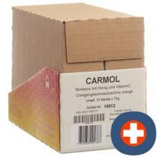Carmol lollies orange 10 btl 75 g