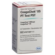 Coaguchek xs pt pst german / italian / dutch / french 24 pcs