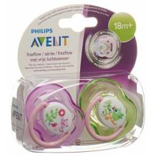 Avent philips soother 18monate + girl