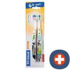 Trisa young children toothbrush duo