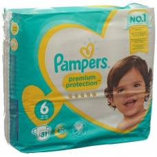 Pampers premium protection gr6 13-18kg extra large sparpack 31 pcs