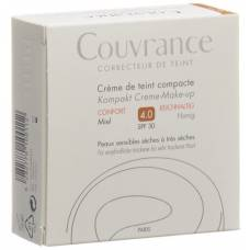 Avene couvrance compact makeup honey 04 10 g