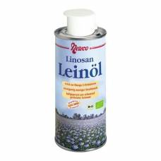 Neuco edible linseed oil unrefined organic ds 250 ml