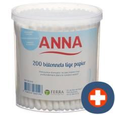 Anna cotton swab paper 200 pcs