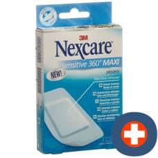 3m nexcare sensitive skin maxi 50x100mm 5 pieces