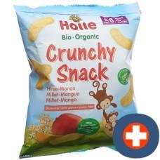Holle organic crunchy snack millet mango btl 25 g
