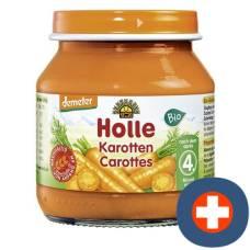 Holle organic carrots demeter 125 g