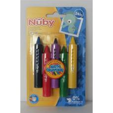 Nuby bath crayons easy to wipe
