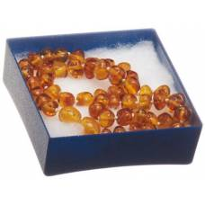 Ra amber necklace attached neck 36cm