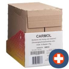 Carmol lozenges lemon btl 75 g