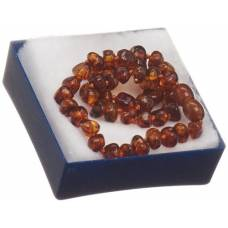 Ra amber necklace attached neck 32cm