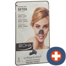 Iroha detox cleansing strips nose 5 pcs