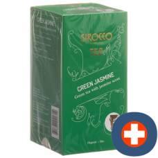 Sirocco teabags jasmine green 20 pcs