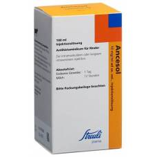 Ancesol inj lös 10 mg / ml ad us. vet fl 100 ml