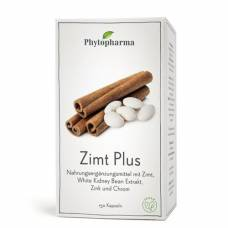 Phytopharma cinnamon plus kaps ds 150 pcs